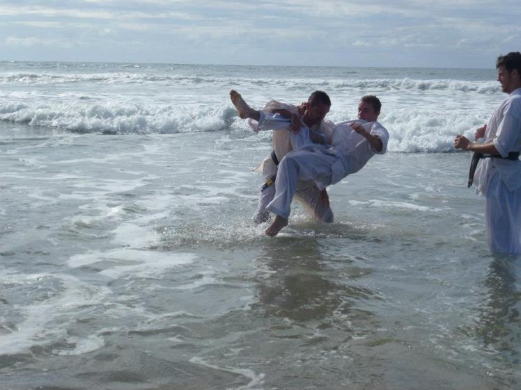 Karate Sea train